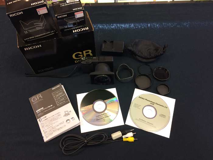 RICOH リコー GR DIGTALデジタルカメラ GH-1 GW-1 セット デジカメ[iz][jggZ]