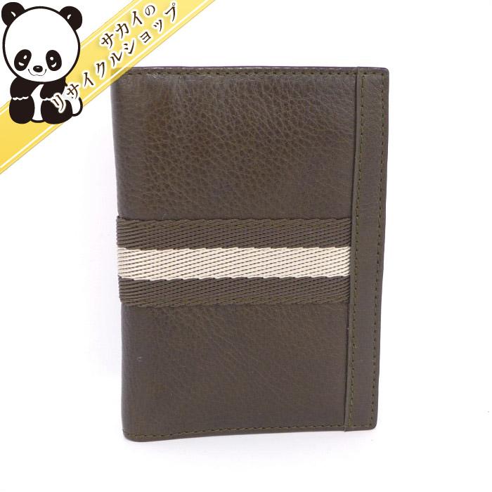 BALLY バリー カードケース レザー ブラウン 【美品】