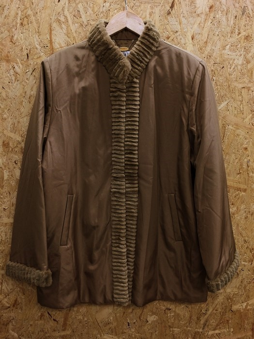 BALMAIN バルマン 中綿ジャケット ブルゾン シルク100% レディース サイズ表記11