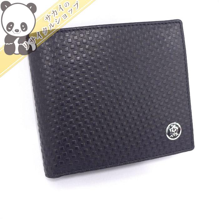 【中古】【美品】Dunhill マイクロディーエイト 2つ折り財布 L2V332A