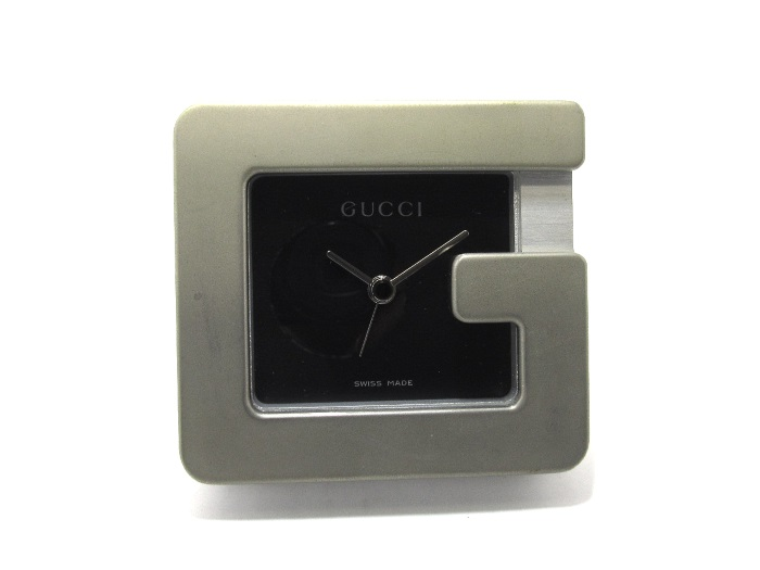 GUCCI 置き時計 アラーム付き クォーツoBWdxrCe