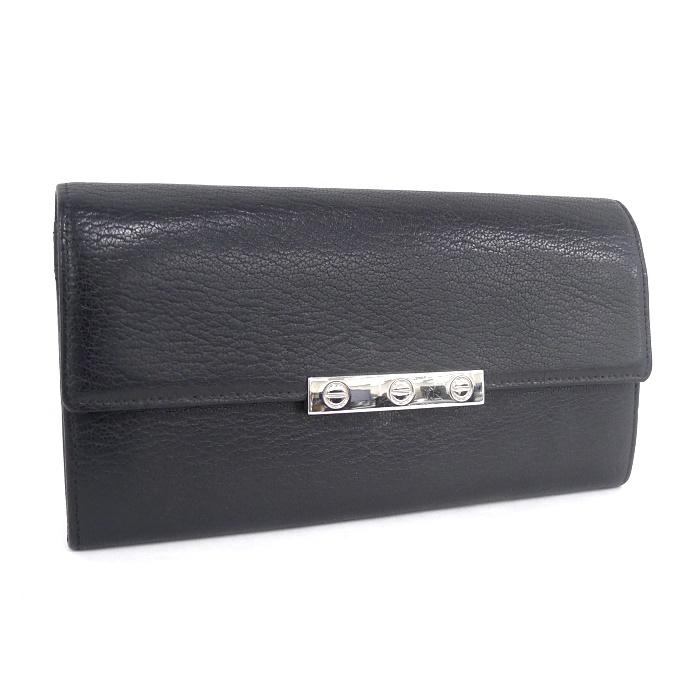 Cartier カルティエ 二つ折り長財布 ラブコレクション ブラック L3001375 【z80525*hmkd3n】
