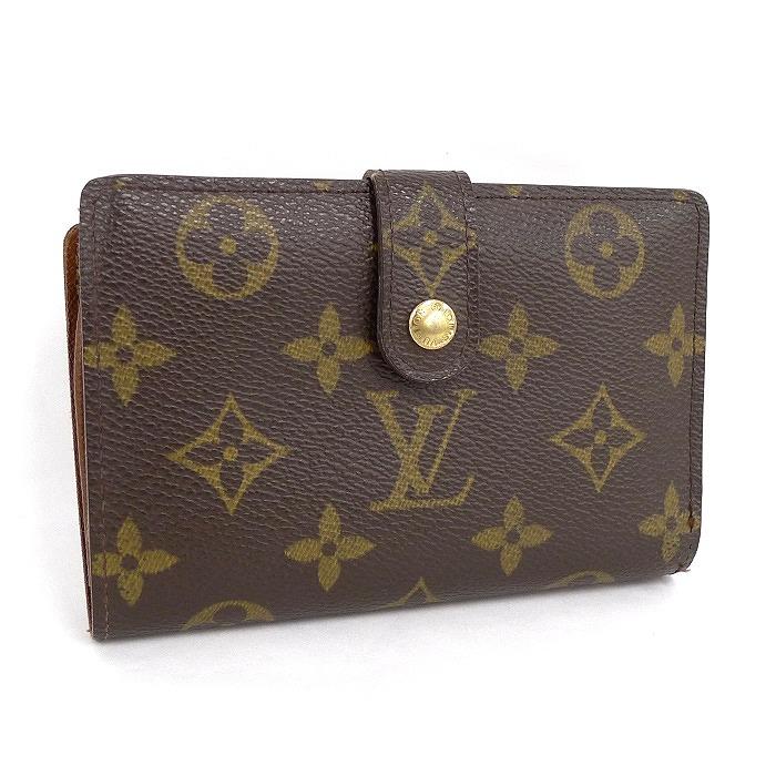 LOUIS VUITTON ルイヴィトン ポルトフォイユ・ヴィエノワ 二つ折り財布 がま口財布 モノグラム M61663 【z80522*hmn】