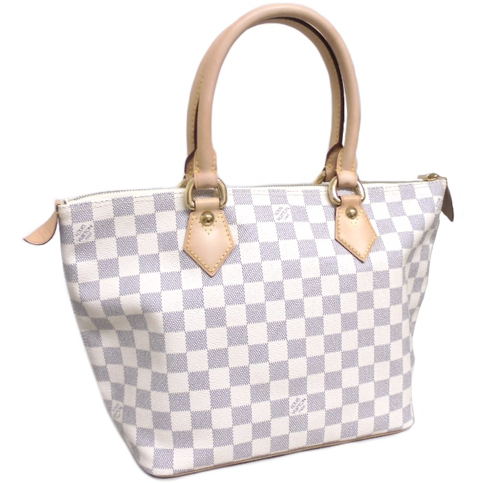 LOUIS VUITTON ルイヴィトン サレヤPM トートバッグ ダミエ アズール N51186 【美品】