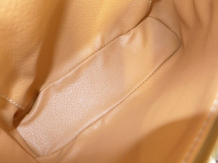 65499676e17b マカダム柄 化粧ポーチ バニティーバッグ CELINE セリーヌ ブラウン MC1061【中古】[mo] PVC-化粧ポーチ