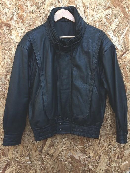 美品 中古 NISHIMOTO ニシモト メンズ バイカージャケット アウトレットセール 特集 表記サイズ:M 本物 jggI ブラック hs