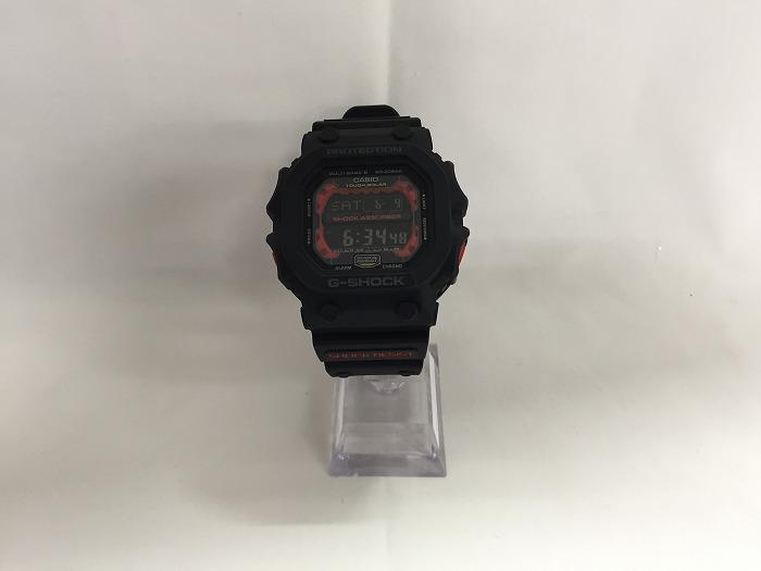 【中古】CASIO G-SHOCK カシオ ジーショック メンズ腕時計 タフソーラー 電波ソーラー ブラック ラバー GXW-56-1AJF [id][jggW]