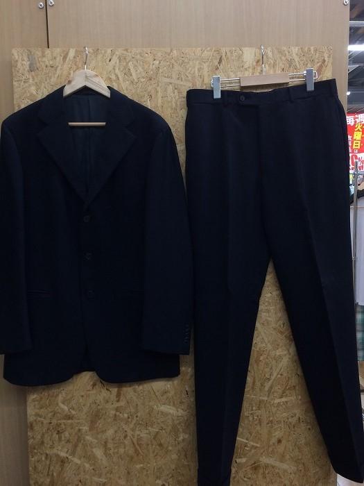 【中古】ベルベスト ユナイテッドアローズ メンズ スーツ上下 セットアップ ネイビー 表記サイズ:50[jggI]