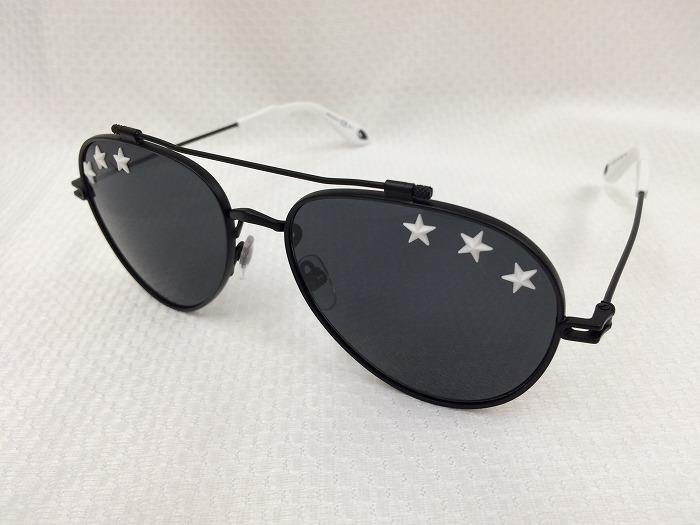 【中古】ジバンシー サングラス ブラックレンズ ホワイト GV 7057/STARS[jggZ]