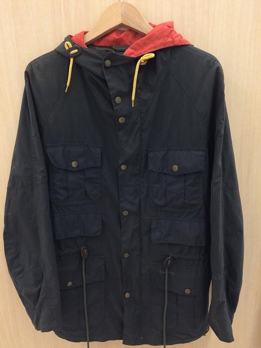 【中古】バブアー メンズ オイルドジャケット カーキ 表記サイズ:XS[jggI]