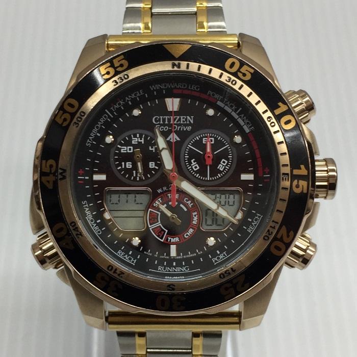【中古】シチズン エコドライブ 腕時計 メンズ クオーツ C660-S067634[jggW]