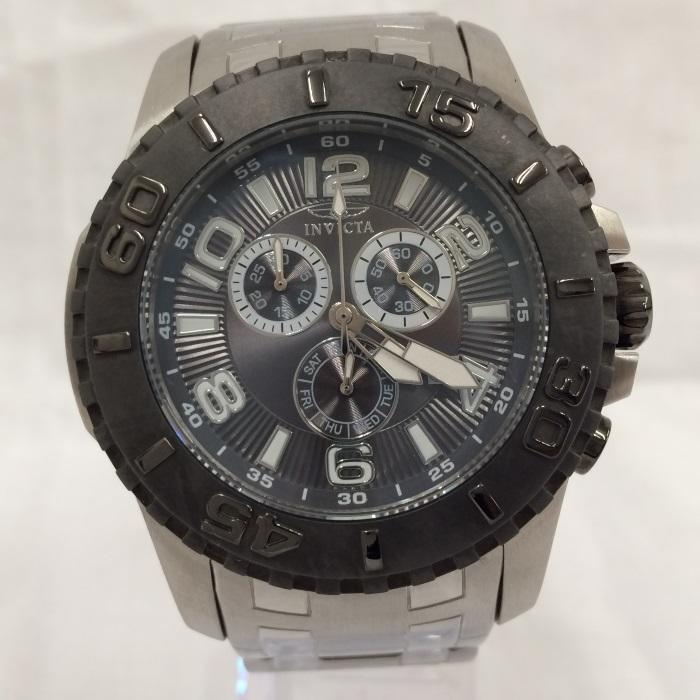 【中古】インヴィクタ メンズ腕時計 プロダイバー 17394 クオーツ SS[jggW]