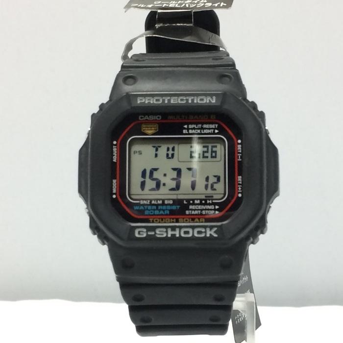 【中古】カシオ メンズ腕時計 ジーショック GW-M5610-1JF デジタル タフソーラー 電波 ラバー ブラック[ka][jggW]
