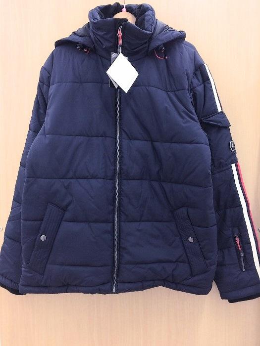 【中古】ショッフェル/ベンツ メンズ ダウンジャケット ネイビー系 表記サイズ:L[jggI]