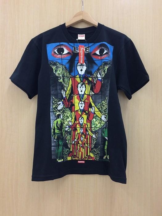 【中古】シュプリーム ギルバート&ジョージ Tシャツ メンズ ブラック 表記サイズ:S[jggI]