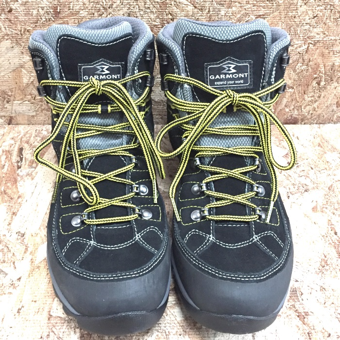 【中古】ガルモント ビブラム アウトドアシューズ 登山靴 メンズ ブラック 表記サイズ27cm[jggS]