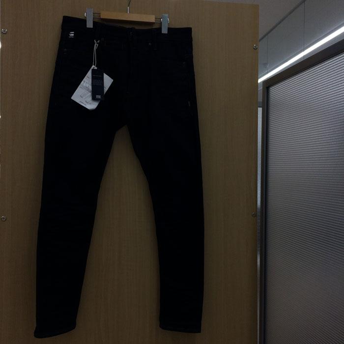 【中古】ジースターロウ メンズ デニムパンツ ネイビー 表記サイズW31 L32[jggI]