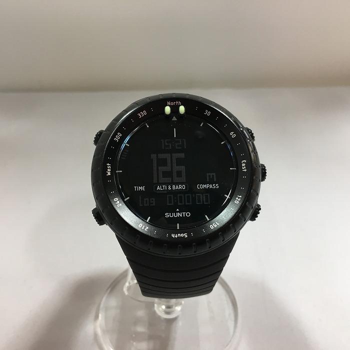 【中古】スント 腕時計 コア クオーツ ブラック 1904609796[jggW]