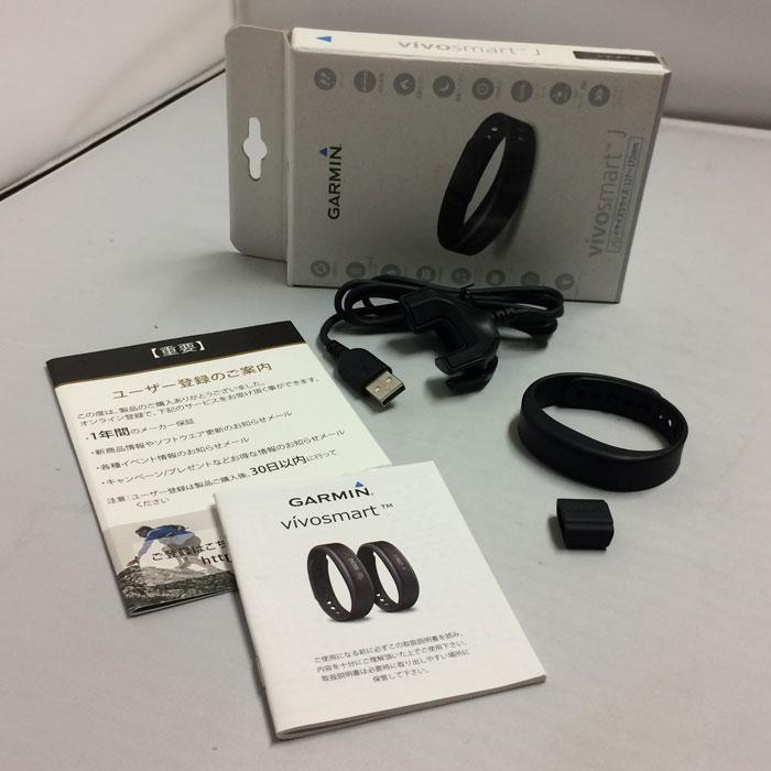 【中古】ガーミン リストバンド型 活動量計 ブラック タッチパネル 心拍計 Bluetooth対応 Sサイズ 131730[jggZ]