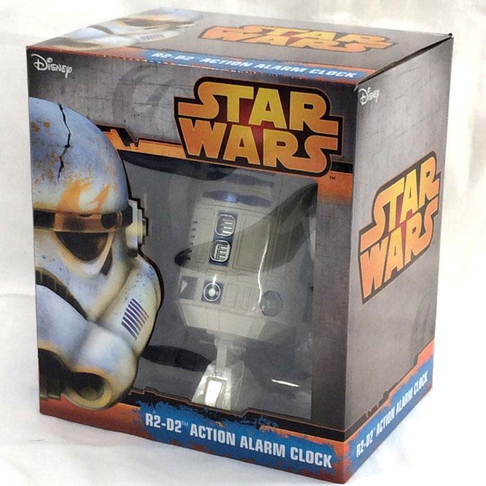 【中古】リズム時計工業 スターウォーズ R2-D2 アクション アラームクロック 8ZDA21BZ[jggW]