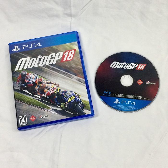 【中古】オーイズミ アミュージオ PS4 ゲームソフト Moto GP 18[jggZ]