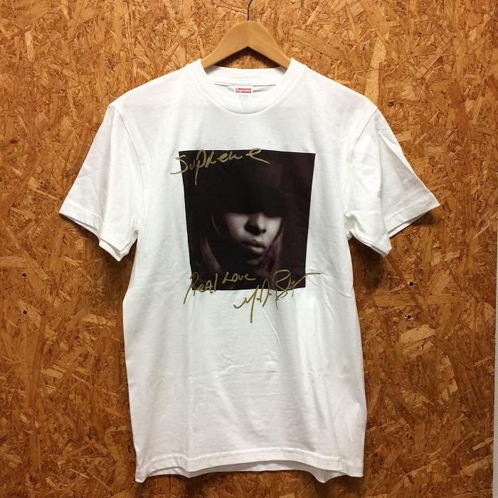 【中古】シュプリーム メンズ 半袖Tシャツ メアリージェイブライジ 19SS ブラック 表記サイズ:S[jggI]