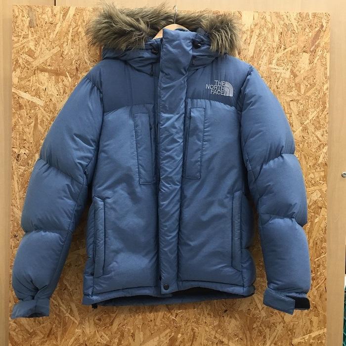 【中古】ザノースフェイス メンズ ポーラーダウンジャケット ND91350 ブルー系 表記サイズ:S[jggI]