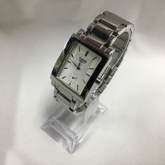 ORIENT RACER 腕時計 中古 オリエント ラセル クオーツ シルバー 完全送料無料 ホワイト文字盤 全店販売中 メンズ jggW WGR021GE