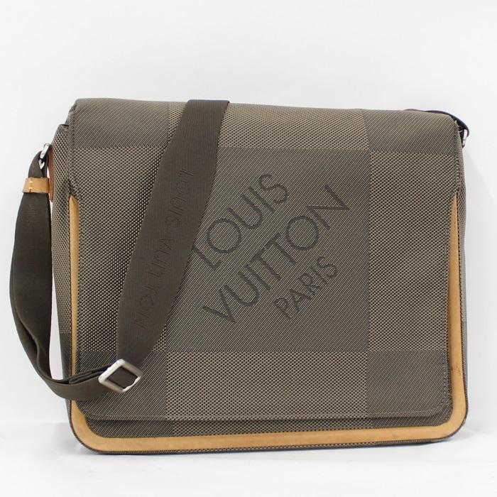 中古 毎週更新 LOUIS VUITTON お買得 メサジェ ショルダーバッグ ダミエ ジェアン M93030 テール