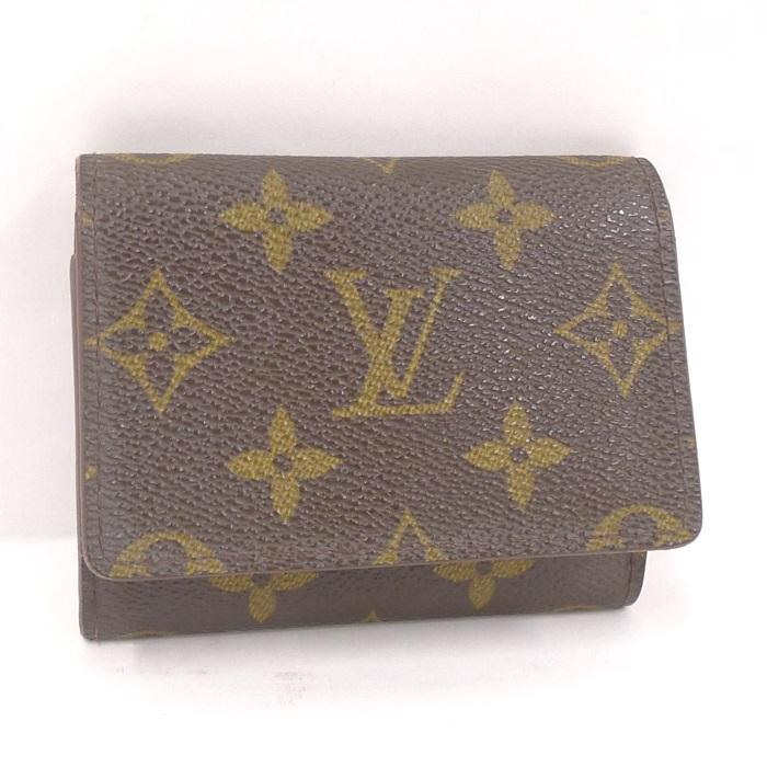 【中古】LOUIS VUITTON カードケース/名刺入れ アンヴェロップ カルトドゥ ヴィジット モノグラム M62920