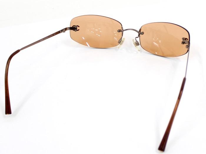 CHANEL サングラス ブラウン ココマーク 4002Y7gv6mIbfy