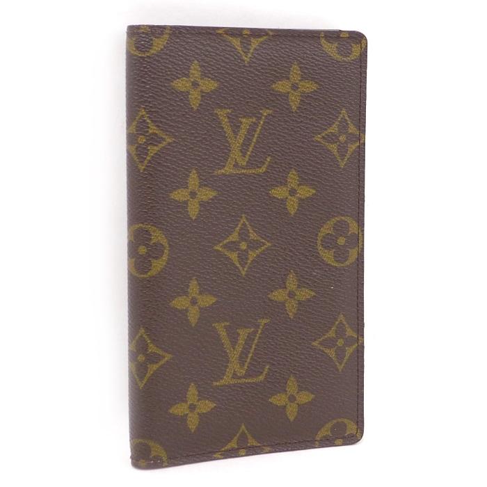 【中古】 LOUIS VUITTON 手帳カバー アジェンダポッシュ モノグラム R20503