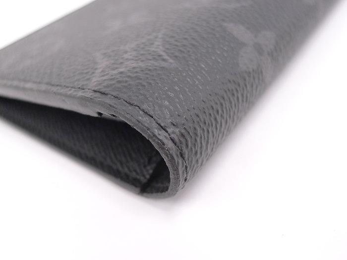 LOUIS VUITTON ポルトフォイユブラザ 二つ折り長財布 モノグラムエクリプス ブラック M61697fygYb67v