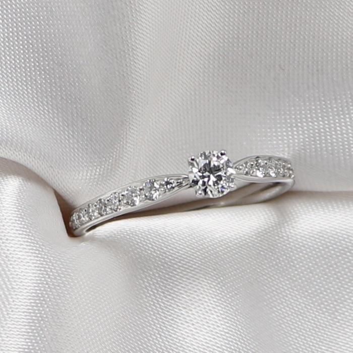 【中古】Tiffany ハーモニー リング Pt950 プラチナ ダイヤモンド 0.22ct 約2.7g 約10.5号