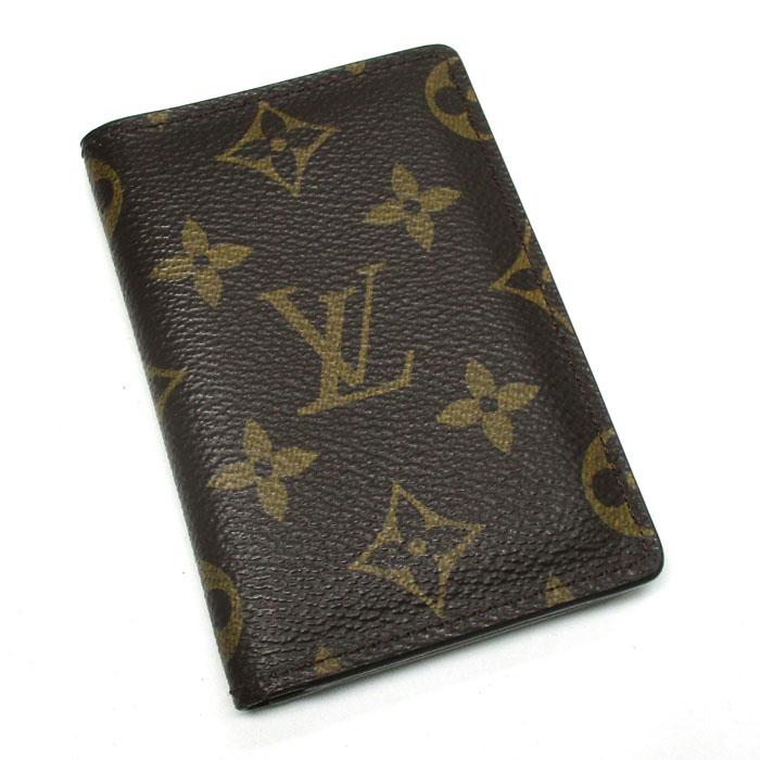 ルイヴィトン クレジットカード 定期 名刺 当店は最高な サービスを提供します 美品 中古 全国一律送料無料 LOUIS モノグラム VUITTON M60502 ドゥ ポッシュ オーガナイザー カードケース