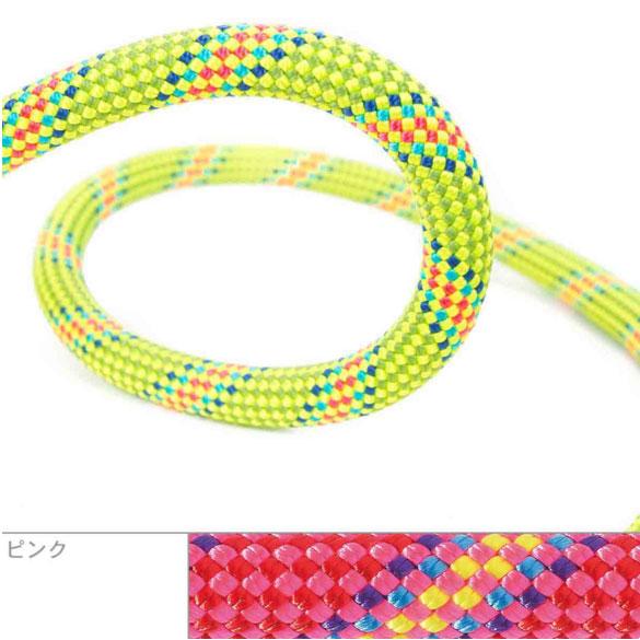 ●ベアール・10.0mmバイラス60m(ピンク)【クライミング用シングルロープ】