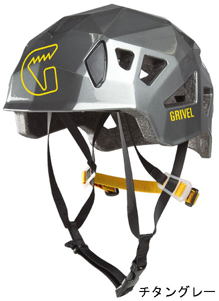 ●グリベル・ステルス(ヘルメット) チタングレー(GV-HESTE)