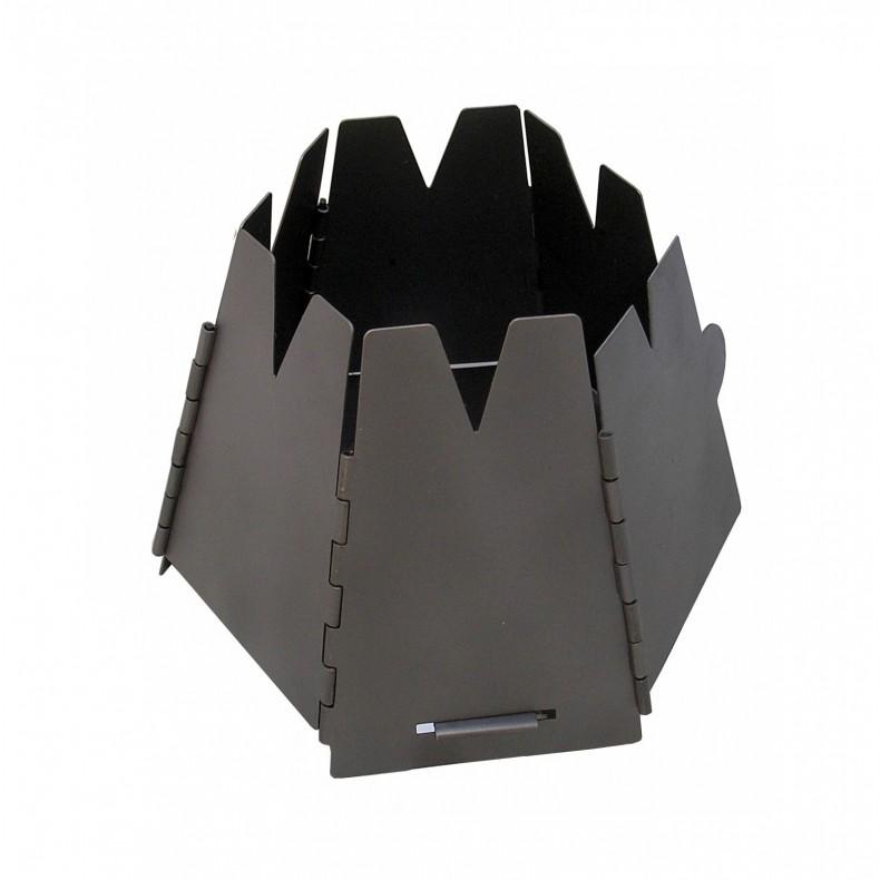 ○バーゴ T-415・チタニウム ヘキサゴンウッドストーブ