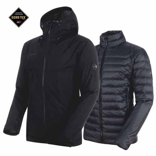 ◎マムート 1010-26470・Convey 3 in 1 HS Hooded Jacket Men【コンベイ3in1フーデットジャケット メンズ】【30%OFF】