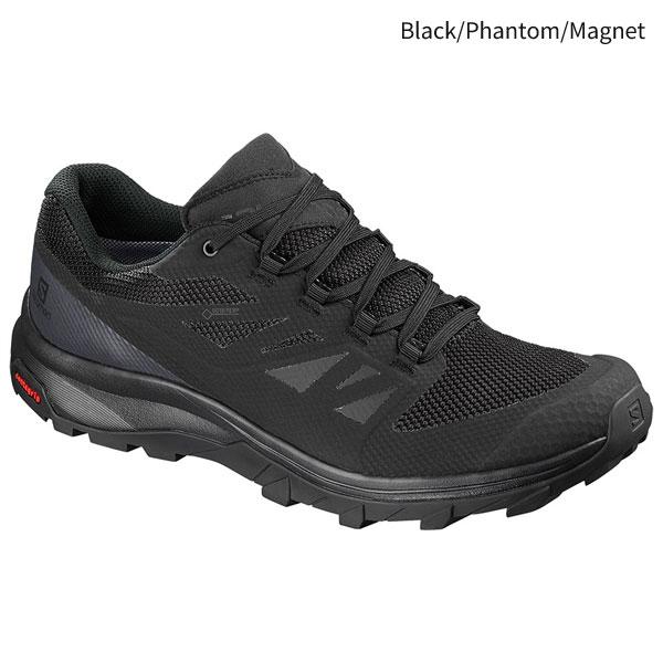 ◎サロモン L40477000・OUTline GORE-TEX/アウトライン ゴアテックス(Black/Phantom/Magnet)