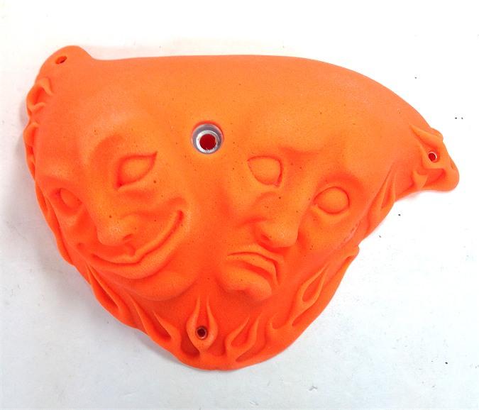 ◇◇FLAME/フレイム・2FACES ツーフェイス(オレンジ/V-66)【1個売り】【クライミングホールド】【ポリウレタン】