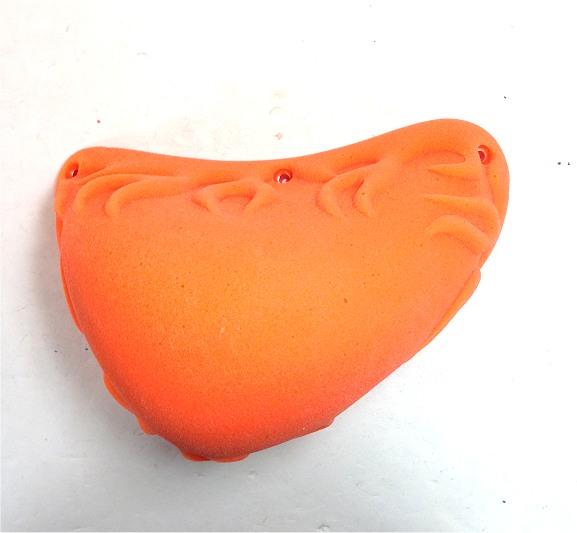 ◇◇FLAME/フレイム・XL SLOPER(オレンジ/V-67)【1個売り】【クライミングホールド】【ポリウレタン】