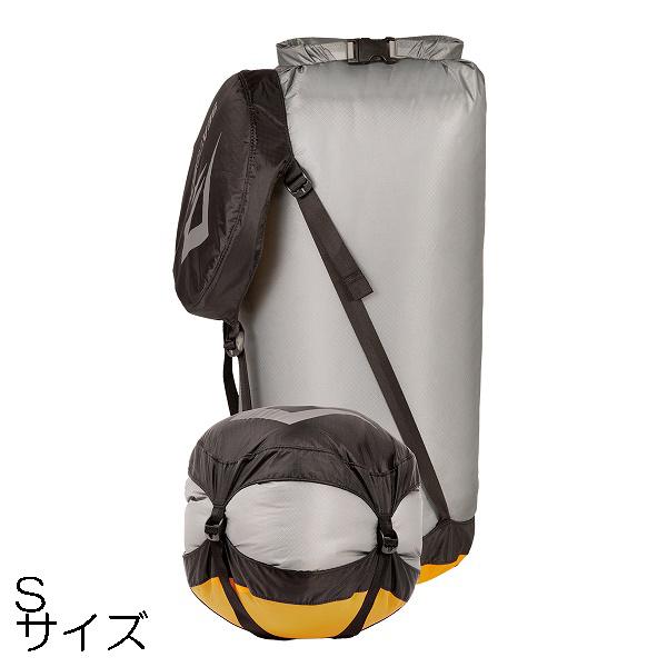 SEA 新着セール TO 全店販売中 SUMMIT シートゥサミット ST83363001 S コンプレッション ドライサック ウルトラシル グレー