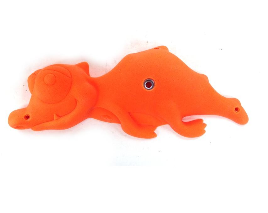 ◇◇FLAME/フレイム・LITTLE CROCODILE(リトルクロコダイル)(オレンジ/V-64)【1個売り】【クライミングホールド】【ポリウレタン】