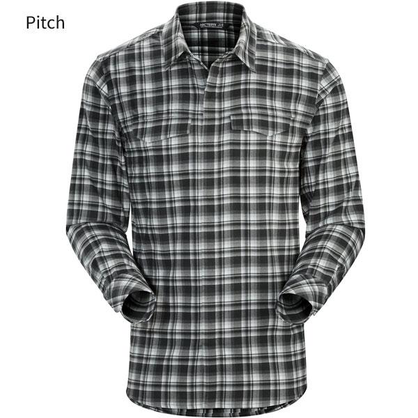 ◎アークテリクス 16898・Gryson LS Shirt Men's/グライソンロングスリーブシャツ メンズ(Pitch)L07090000