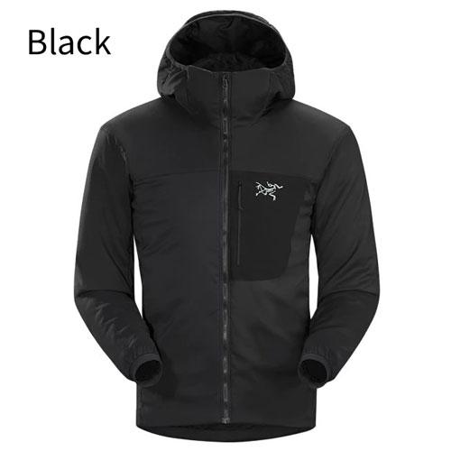 ◎アークテリクス 18354・Proton LT Hoody Men's/プロトンLTフーディ メンズ(Black)L07055200