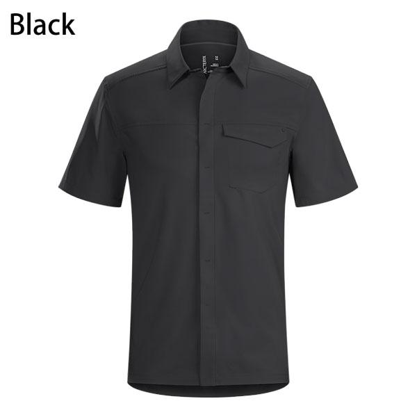 ◎アークテリクス 19076・Skyline SS Shirt Mens/スカイライン ショートスリーブシャツ Men's(BLACK)L06855200