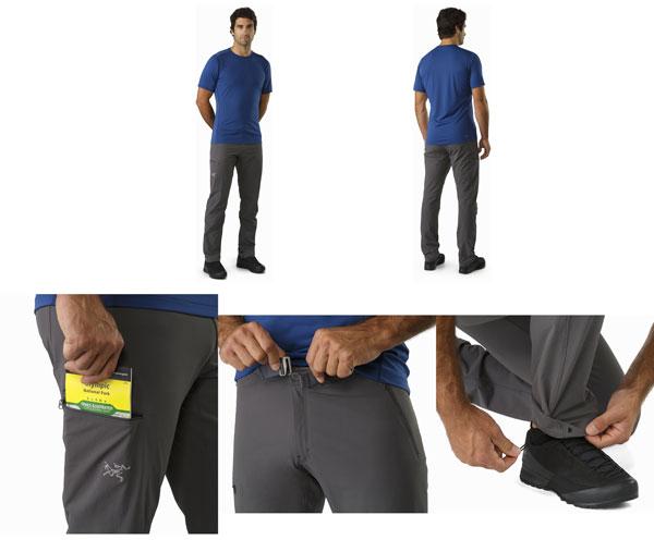 ◎アークテリクス 19235・Gamma LT Pant Mens/ガンマLT パンツ Men's(BLACK)L06857300