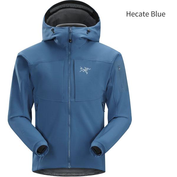 ◎アークテリクス 19274・Gamma MX Hoody Men's/ガンマMXフーディ メンズ(Hecate Blue)L07062600