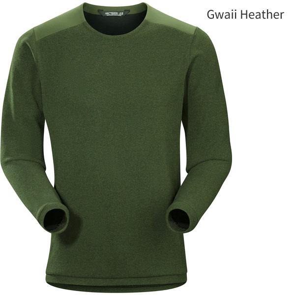 ◎アークテリクス 20155・Donavan Crew Neck Sweater Men's/ドノバンクルーネックセーター メンズ(Gwaii Heather)L07071600